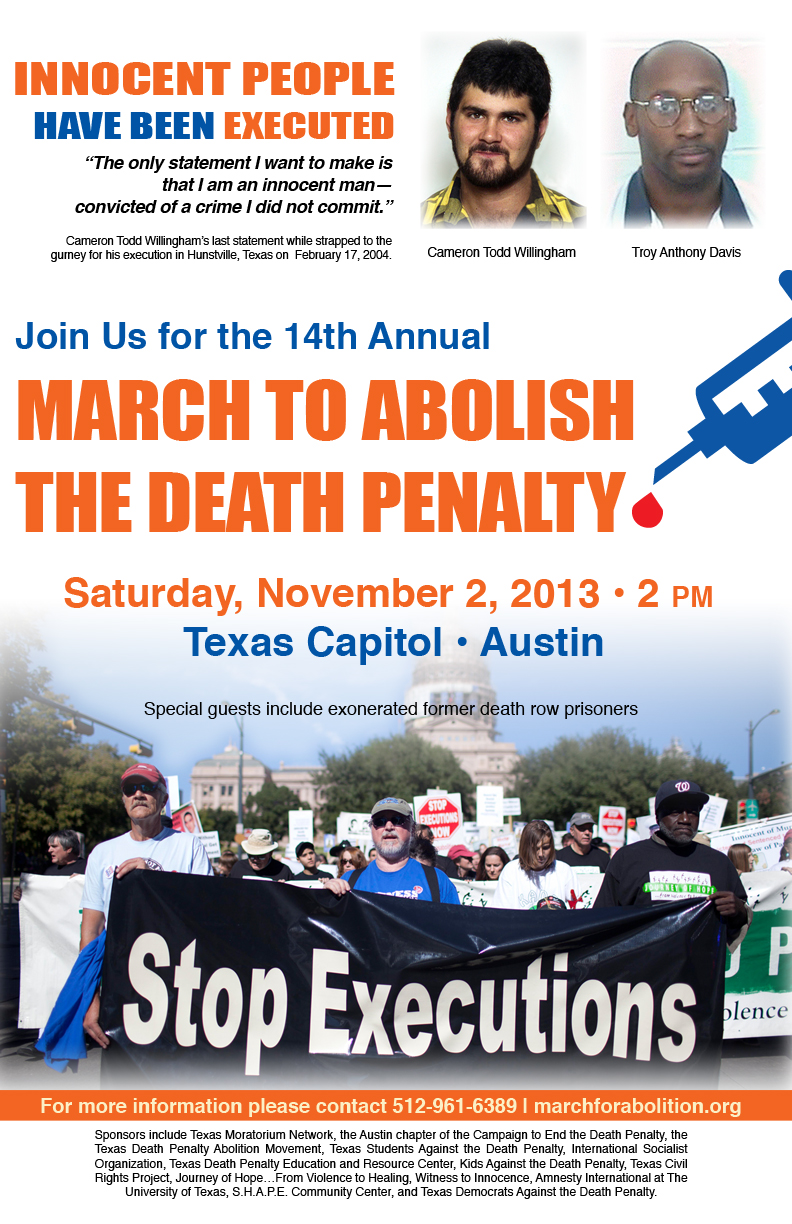 abolish death by execution Delay an execution  death penalty basics key terms, quick facts   new jersey became the first state in 40 years to legislatively abolish the death penalty.